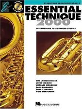 Essential Technique 2000 Intermediate to Advanced TENOR SAX  (2002, Paperback)