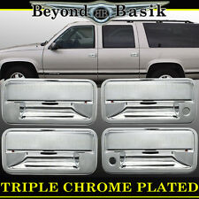 1995 1996 1997 1998 1999 GMC YUKON CHEVY TAHOE Chrome Door Handle COVERS overlay