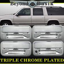 1992-1999 CHEVY/GMC SUBURBAN C/K 2500,3500 Chrome Door Handle Cover With Psgr 4