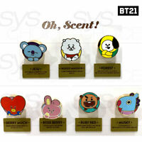 BTS BT21 Official Authentic Goods Car Air Freshener by Oh Scent + Tracking Num