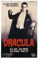 Bela Lugosi, Dracula Movie Film Image from France, Vampire --- Modern Postcard