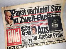 Bildzeitung vom 09.10.1993 * Papst verbietet Sex 23. 24. 25. Geburtstag