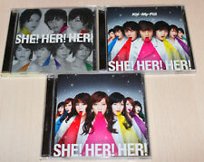Kis-My-Ft2 -  SHE! HER! HER! <Limited SHOP ver + CD+DVD + CD>