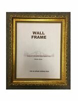 9115 Gold Ornate Wood Picture Frame with Glass