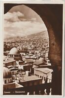 Syria Damas Damascus Mosques Vintage Real Photo Postcard
