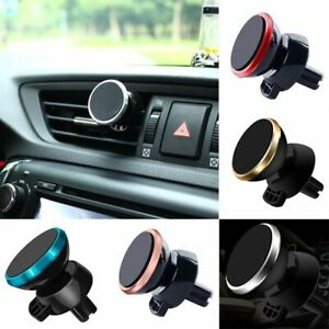 Universal Car Phone Holder 360 Degree Magnetic Air Vent Mount Mobile Smartphone