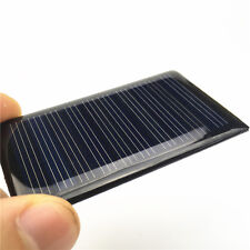 2pcs 68x37mm 5V 0.3W Epoxy Cell Solar Panels Kits For Charging Cellphone Battery