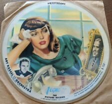 Vogue Picture Record R734 Picture Disc 78 ART KASSEL & HIS ORCHESTRA