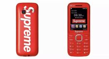 Supreme BLU Burner Phone Red FW19 IN HAND! Fall/Winter 19 HYPEBEAST Accessory