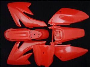 RED PLASTICS SET FOR WPB CRF70 STYLE PIT BIKE XLR