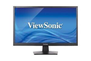 "Viewsonic VA2407h-E3 24"" Full HD Monitor with Stand,"