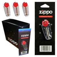 3 PACKS 100% GENUINE ZIPPO® LIGHTER 18 FLINTS FAST & FREE POSTAGE UK MADE IN USA
