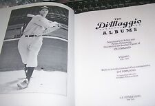 Volume 1 [of 2] photo album book NY New York Yankee HOF MLB star Joe DiMaggio