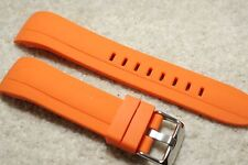 Rubber Divers Curved End. Watch Strap For Citizen/Seiko Deluxe Sport 22mm +Tool