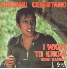 7inch ADRIANO CELENTANO	I want to know	FRANCE EX+ (S2042)