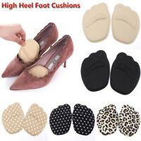 Sole High Heel Foot Cushions Forefoot Anti-Slip Insole Breathable Women Foot Pad