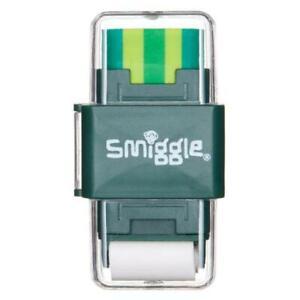 Smiggle Sharp Again Roll Eraser & Sharpener Party Favor School Green