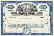 BOSTON EDISON COMPANY ( lateron NSTAR - now Northeast Union ) dd 1967