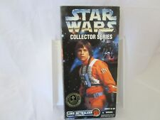 STAR WARS COLLECTOR SERIES NIB LUKE SKYWALKER REBEL ALLIANCE PILOT  1996 HASBRO
