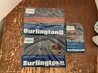 Vintage Jordache Jeans Full Size Burlington Sheet Set New In Package