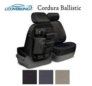 Coverking Custom Tactical Seat Covers Cordura Ballistic - Choose Color And Rows
