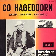"""CO HAGEDOORN - Bonanza (1963 FAVORIETEN EXPRES VINYL SINGLE 7"""")"""
