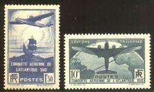 FRANCE #C16-17 Mint - 1936 South Atlantic Set