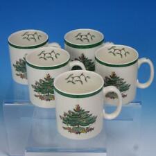 Spode Christmas Tree - S3324 - 6 Coffee Mugs - 3½ inches high