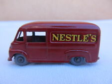 Vintage Matchbox Nestle's Commer 30 CWT Van Red Made in England by Lesney