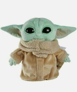 "Star Wars Mattel Mandalorian The Child 8"" Baby Yoda Grogu Plush. New with Tags!"