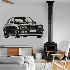 Bmw Car Wall Stickers Kids Room Bedroom Nursery Home Decor Removable Wallpaper