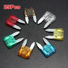 35PCS Auto Car Truck ATC Mini Blade Fuse 5A 10A 15A 20A 25/30A AMP Mixed Set Kit