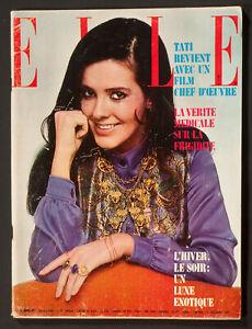 'ELLE' FRENCH VINTAGE MAGAZINE WINTER ISSUE 21 DECEMBER 1967