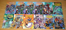 Codename: Stryke Force #0 & 1-14 VF/NM complete series + (2) variants - posters!