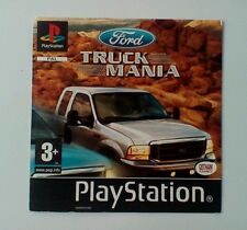*FRONT INLAY ONLY* Ford Truck Mania Front Inlay  PS1 PSOne Playstation