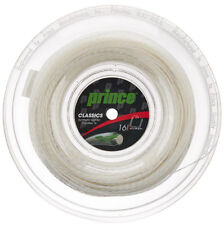 PRINCE Synthetic Gut 16 Duraflex 660ft/200m tennis racquet string reel - White