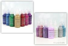 Dovecraft Glitter Glue Assorted Colours Brights or Pastels  - Pack of 8 x 20ml