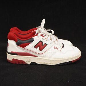 New Balance x Aime Leon Dore BB550 550 Big Apple 2020 Red Multi Sneakers 8 NR
