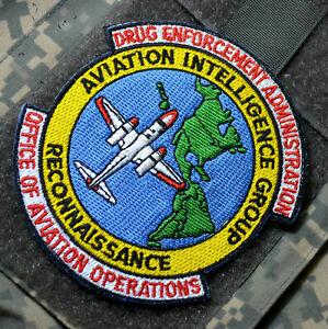 Drug Enforcement Admin Dea Aviation Opérations Recon & Intel Groupe Vêlkrö Patch