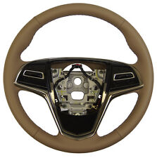 2015 Cadillac ATS Steering Wheel Med. Cashmere Tan Leather New OEM 23207583