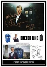 Dr Who Television Collectable Pre-Printed TV Autographs