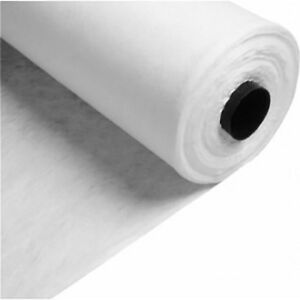 Geotextile Fleece Membrane Soakaway Wrapping Weed Prevent FAST FREE DELIVERY 9m2