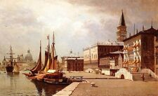Custom Oil Painting repro John Joseph Enneking Venice at Midday