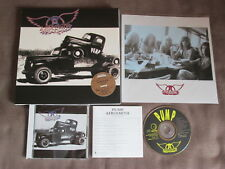 "AEROSMITH Pump+1 JAPAN CD 10"" BOX MVCZ-7 w/4 MINT UNUSED POSTERS+PROMO STICKER"