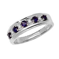 Unbranded Anniversary Eternity Round Fine Gemstone Rings