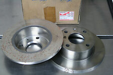 2 Bremsscheiben Ford Escord III, IV MOTORCRAFT EBT106 (OE 1097107, 86AX1125S1A)