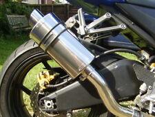 KAWASAKI Z750 2004-2006 A16 de escape con enlace Oval rechoncho acero pipa