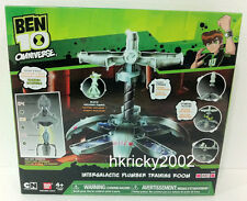 Bandai Ben 10 Omniverse Intergalactic Plumber Training Room with Blukic Figure