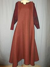Medieval Surcoat Costume SCA Renaissance red and black