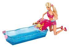 Mattel Barbie X8404 Hunde-Schwimmwettbewerb, Puppe und Zubehör , NEU, OVP